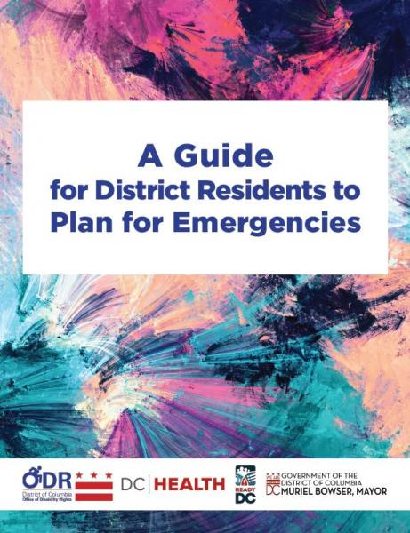 A Guide for District Residents to Plan for Emergencies