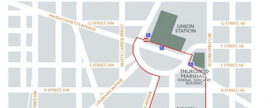 Acccesible Directions - DC Street Map